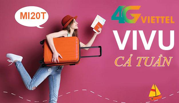 Hướng dẫn cách đăng ký 4G Viettel 1 tuần